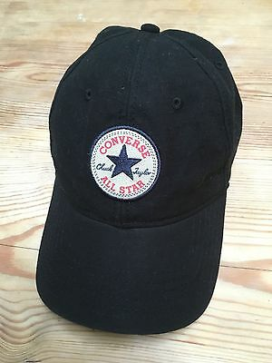 Black Converse All Star - Baseball Cap - Adjustable Size - Great Condition