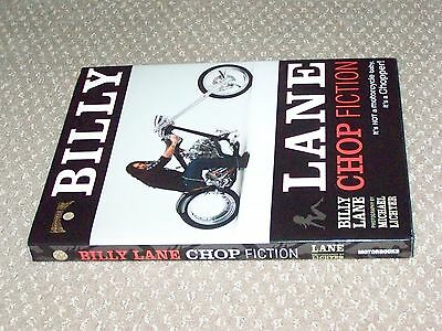 Authentic CHOPPERS INC BILLY LANES ORIGINAL CHOP FICTION Motorcycle Book w Cover
