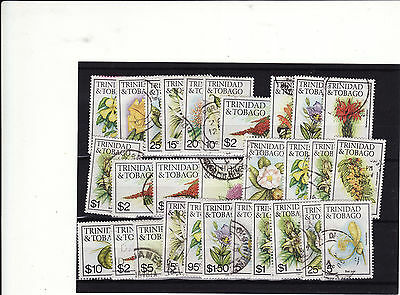 Trinidad & Tobago - 1976+ Definitives 29 Used Stamps With Dates May Be Some Dupl