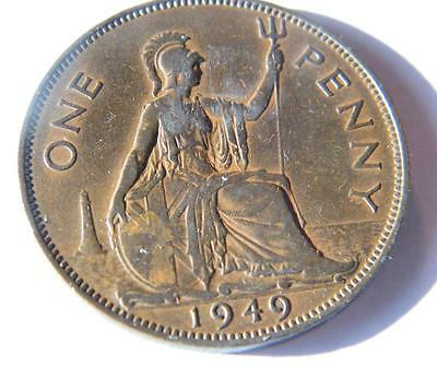 1949 penny with lustre