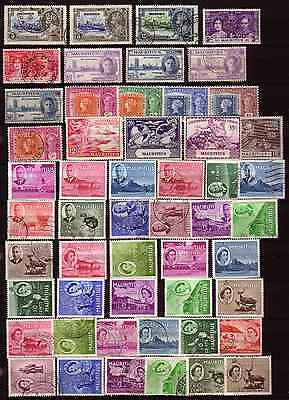 MAURITIUS 1930s-60s MINT AND USED SELECTION OF STAMPS........
