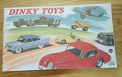 Replica of 1959 Dinky Catalogue. 28 pages.