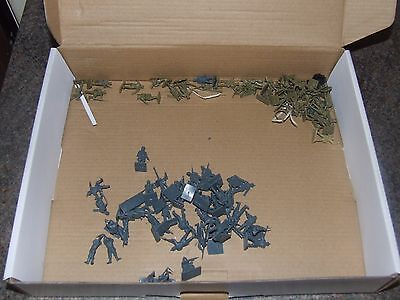 Vintage WWI Airfix 1:72 Toy Soldiers - British & Germany Infantry
