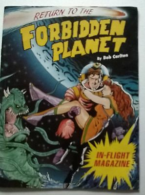 Theatre Programme With Ticket , Return To The Forbidden Planet,