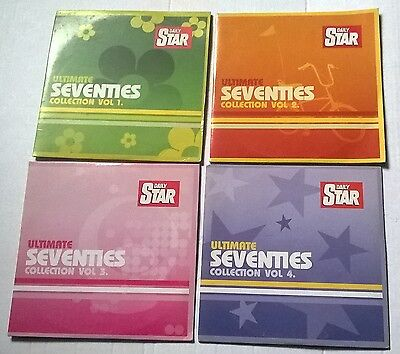 SET OF 4 CD's,  ULTIMATE SEVENTIES COLLECTION.