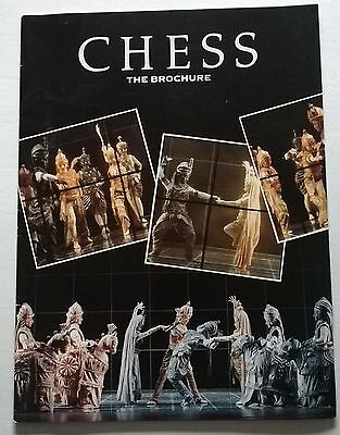 Theatre Brochure  With Ticket , Chess