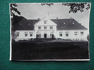 Antique Original Photo King Oscar II of Swden & Norway Summer Home Bygdo Palace