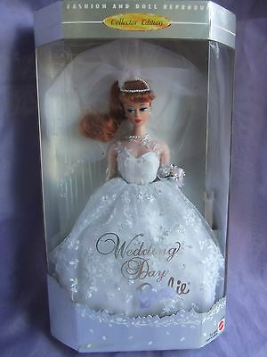 collectors Repro wedding day barbie doll clothes dress fashion gown outfit