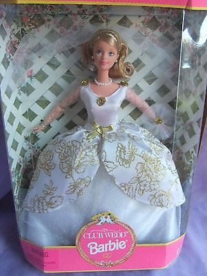 collectors Club wed bride wedding barbie doll clothes dress fashion gown outfit