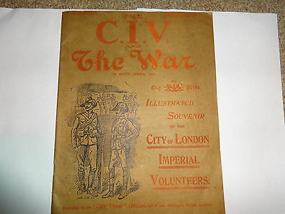 The CIV and the War in South Africa 1900. First edition