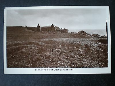 Isle if Whithorn St Ninian's Church Wigtownshire Scotland RP postcard