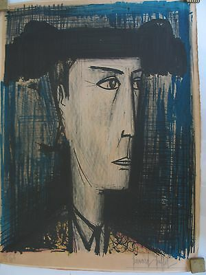 Bernard Buffet Limited Edition Signed And Numbered In Pencil
