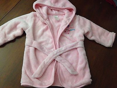 baby girl dressing gown 12-18