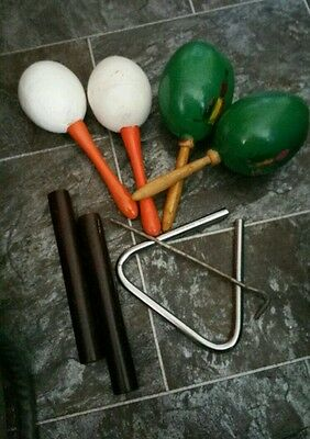 Assorted Percussion Instruments