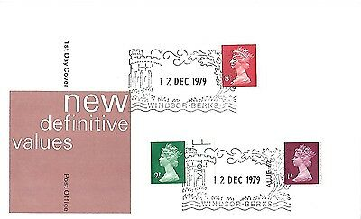 12/12/79 New Definitive Values Fdc