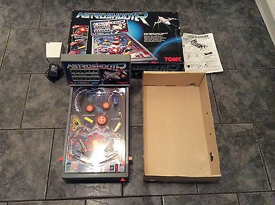 Boxed Tomy Astro Shooter Pinball Game Fully Working VGC Xmas Collectors Item