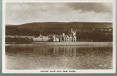 Old Postcard  Shandon Hydro Hotel From Water    Scotland   Not Posted