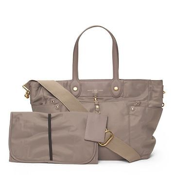 Marc By Marc Jacobs Preppy Eliz-A-Baby Diaper Bag in Cement - NWT $348