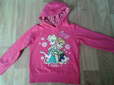 Frozen hooded sweater top  7-8yrs