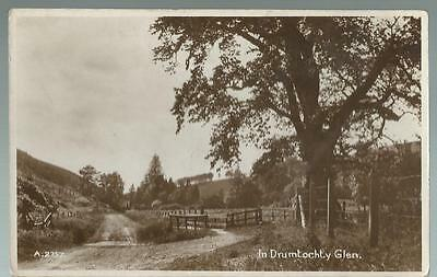 Old Postcard  Valentine's  In Drumtochty Glen  Scotland   Not Posted