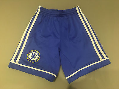 Chelsea Home Football Shorts Age 7-8 Years
