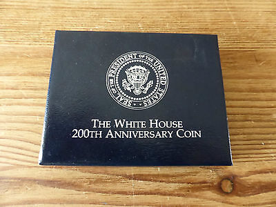 The White House 200th Anniversary Coin. One silver dollar.