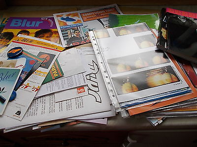 Very Large Collection Of BLUR Memorobilia - Includes First 15 Issues Of Blurb ++