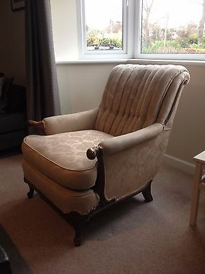 French Upholstered Armchair
