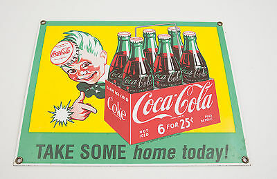 Coca Cola Reproduction Ande Rooney 6 for 25 Cents Sign (D2L) Take Some Home