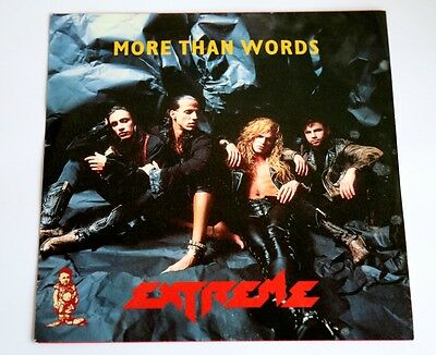 """Extreme More Than Words 7"""" 45rpm Picture Single"""