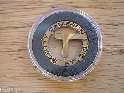 Scotty Cameron Titleist Honey Dipped Circle T Ball Marker PGA Rare Sold Out New