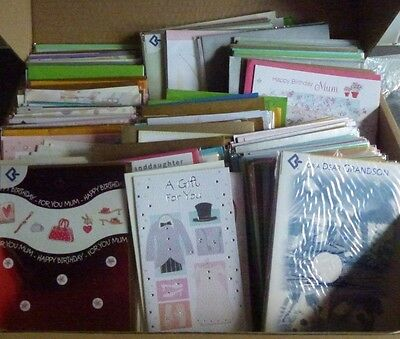 200+ Mixed Celebration Greeting Cards Ages Relations Occasions Job Lot Wholesale