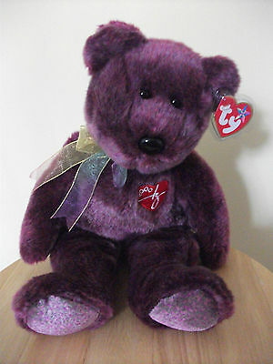 Ty Signature Bear 2000 Beanie Buddie (Buddy). Stored since Purchase. Tag/Cover