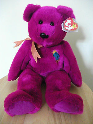 Ty 2000 Millennium Bear Beanie Buddie (Buddy). Stored since Purchase. Tag/Cover