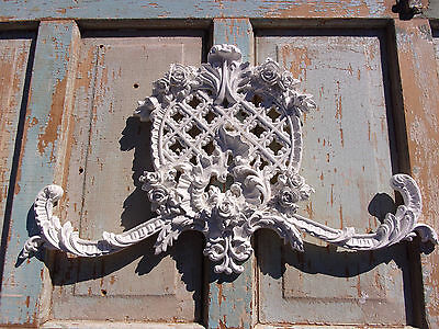 Shabby & Chic  Furniture Applique Huge Rose Center Onlay Decorative Mouldings