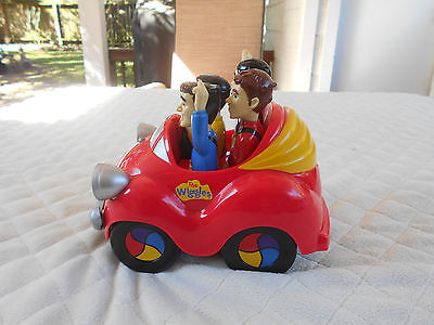 2008 The Wiggles Big Red Car With Sound Push Car