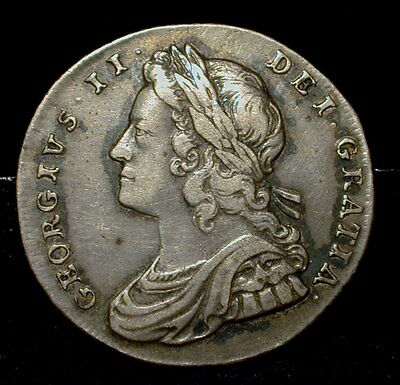 1731 Great Britain Shilling VF condition  SPINK 3698