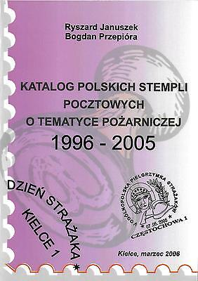 Polish Fire Service Postal Cancelations  1996 - 2005 Complete Booklet In Polish