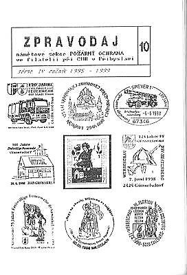Polish Fire Service Postal Cancelations From 1995 - 1999 Booklet
