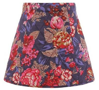 Monsoon Girls BERRY Quilted Skirt - Age 12-13 years