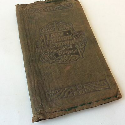 Stunning green vintage Edwardian wallet documents folder