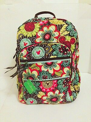 NWT Vera Bradley Disney Limited Edition Perfect Petals Campus Backpack