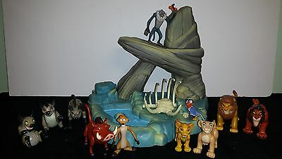 Disney's The Lion King Mattel HTF RARE Elephant Graveyard w/ extra characters