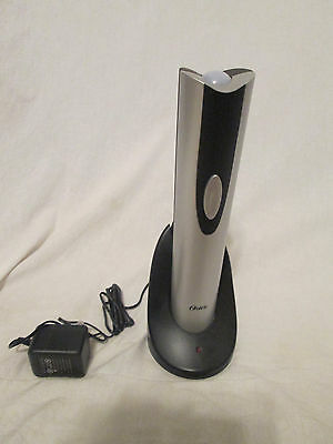 Oster Electric Wine Bottle Opener, Silver, FPSTBW8207-S, New