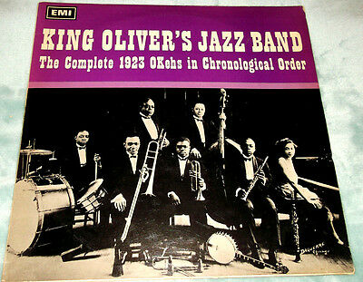 KING OLIVER'S JAZZ BAND The Complete 1923 OKehs in Chronological Order