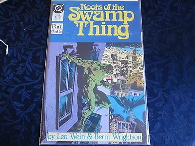 1986 DC Roots Of The Swamp Thing #4 Of 5 Comic Book