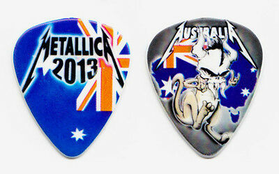 Metallica James Hetfield Australia Guitar Pick 2013 Soundwave Festival