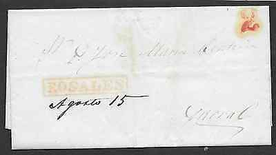 Mexico CH120-5 on 1852 Letter