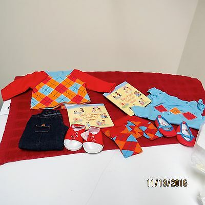 American Girl Bitty Twins Argyle Dress Pants Outfits Boy/Girl Books & Diapers 2