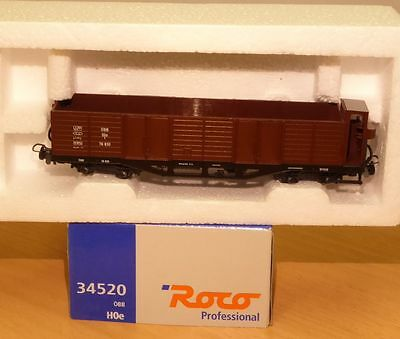 "ROCO 34520 Freight car ""OOm/s 76 830"" Mariazell railway the ÖBB for Narrow gauge"